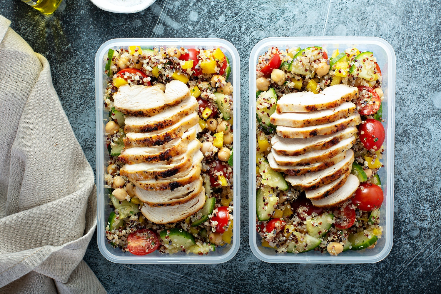 weekly menu - the fit chef | nutritional meals